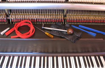 Outils d'accordage de piano